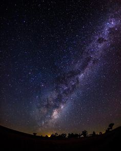 """Interesting one by thejubawuki #astrophotography #contratahotel (o) http://ift.tt/21P8tbI""""Afterglow""""  crescent moon rising  with rising galactic core  and a layer of green-red airglow 8 shots blending in Photoshop with the median filter 15s @ f2.8 ISO 6400 #stars #sky #night #space #cosmos #skies #milkyway #galaxy  #galacticcore #constellations #celestial #ig_astrophotography #fantastic_universe #wanderlust #nightsofwonder #nightsky #long_exposure #longexpoelite #airglow #moonrise #trees…"""
