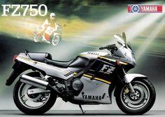 Yamaha FZ750 (1988) ad.