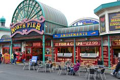 Blackpool's North Pier by Richard_of_England, via Flickr