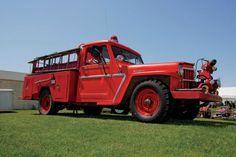 A Heroic 1963 Willys Fire Truck - Jeep Encyclopedia
