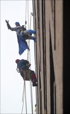 Window Cleaning Super Heroes & The Story Behind Them