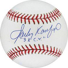 "Autographs-original Bob Gibson Signed Mlb Baseball W/ ""2x Cy Young"" Insc. Balls"