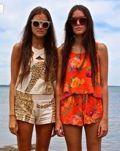 LENNI leopard XX top & Sinner shorts www.lenni-shop.com