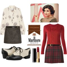 Audrey Horne Style-- everything except the cigarettes.