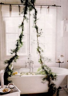holiday bathtub, yes please!