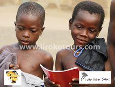 Happy children in Benin