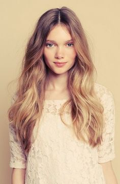 Style Inspiration | Soft Ombre #blonde #ombre #soft
