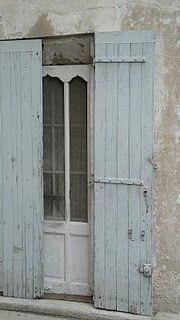 French-look shutters