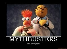 Love it -- Muppets meet Mythbusters!