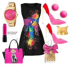 Fun Fashions by niccicollins on Polyvore featuring polyvore fashion style Casadei Akribos XXIV Kate Spade Yossi Harari MAC Cosmetics Juicy Couture clothing