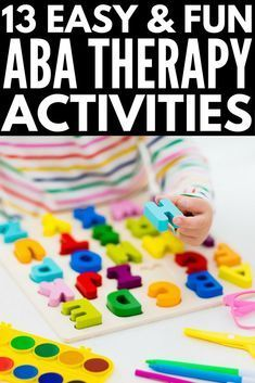 13 ABA Therapy Activities for Kids with Autism You Can Do at Home - From teaching emotional regulation, anger management, and social thinking concepts to demonstrating - Aba Therapy For Autism, Aba Therapy Activities, Autism Resources, Kids Therapy, Art Therapy, Occupational Therapy, Therapy Ideas, Asd, Special Education