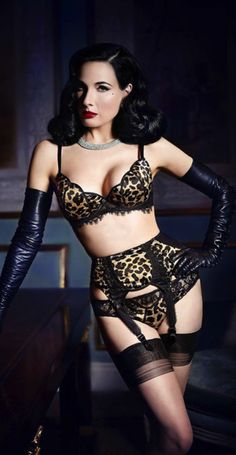 Channel Your Inner Dita ~ Spring 2014 ~ Cynthia Reccord