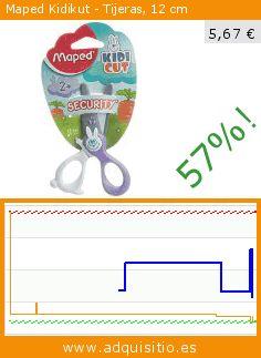 Maped Kidikut - Tijeras, 12 cm (Productos de oficina). Baja 57%! Precio actual 5,67 €, el precio anterior fue de 13,14 €. https://www.adquisitio.es/maped/tijeras-kidikut-12-cm