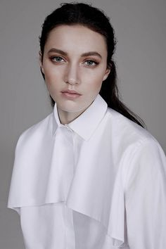 f2a8d4e03761fc The Wall Street Journal Tods Sleeveless Blouse Top The Simplicity of the White  Shirt WSJ Magazine Spring 2014 Photographer Ben Weller Stylist Zara ...