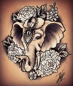 Image result for elephant tattoos