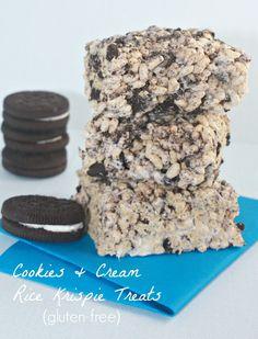 Cookies & Cream Rice Krispie Treats
