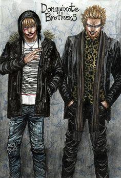 -- One Piece -- Corazon and Doflamingo
