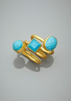 Beautiful stackable rings!