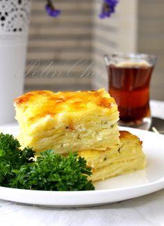 PelinChef: YALANCI SU BÖREĞİ - LAZANYADAN (turkish breakfast)