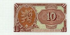 Roberts World Money. Sellers of Quality World Banknotes. European Countries, Czech Republic, Vintage World Maps, Coins, Country, Retro, World, Historia, Nostalgia