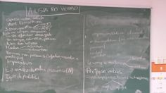 Colexio Marista Lugo @maristaslugo #compostelaenruta #lugoenruta # mabarepe activando coñecementos previos sobre o verbo coa técnica da lista 3 ESO