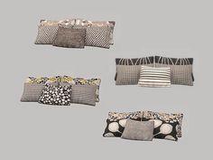 Bedroom Lynn - Pillows Found in TSR Category 'Sims 4 Clutter' : Bedroom Lynn – Pillows Found in TSR Category 'Sims 4 Clutter' The Sims 4 Pc, Sims Four, Sims 4 Cc Furniture, Bedroom Furniture, Resource Furniture, Furniture Decor, Bedroom Decor, Sims 4 Bedroom, Bedrooms