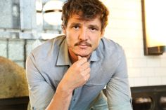 I love this guy!  Pedro Pascal