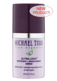 Brighten and whiten with this new organic skin serum! -------♥ #MTTO