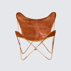 Love The Citizenry's Copper Butterfly Chairs!