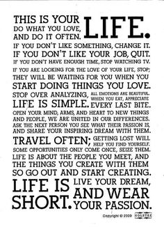 This is your #life #inspiring #quotes