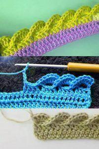 Crochet Gifts - Crochet How to crochet doily Part 1 Crochet doily rug tutorial - Háčkování # double crochet stitch Crochet Afghans, Crochet Blanket Edging, Crochet Doily Rug, Crochet Borders, Crochet Stitches Patterns, Crochet Gifts, Easy Crochet, Crochet Hooks, Free Crochet