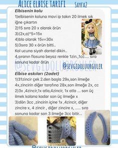 "𝓢𝓮𝓿𝓰𝓲𝓭𝓸𝓵𝓾𝓸𝓻𝓰𝓾𝓵𝓮𝓻 🇹🇷""amigurumi"" on Instag Crochet Doll Pattern, Crochet Patterns Amigurumi, Amigurumi Doll, Knitting Patterns, Knitted Dolls, Crochet Dolls, Lilly Doll, Custom Dolls, Handmade Toys"