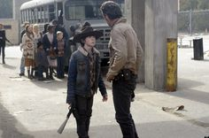 the walking dead season 4 | The Walking Dead' Season 4: Rick Struggles With Carl, More Zombie ...