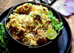 Make this Mughlai special Lucknowi chicken biryani Its a delicious one pot dish and great to treat your family and friends for a weekend meal all you have to do is marinate and cook the chicken with yogurt and spices also cook rice and then combine the two finally garnish it and serve with Raita. Mughlai cuisine is rich spicy and full of flavours and aroma. Recipe by Shaheen. In association with Preethi Kitchen Appliances. #MothersdayContest --> http://ift.tt/27VnzNu #Vegetarian #Recipes
