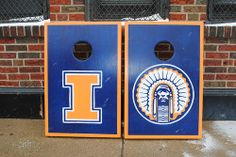 Illini Cornhole boards