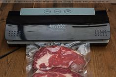 @GreedyGourmet shows us how to sous vide steaks!