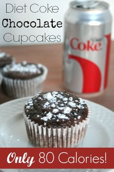 diet coke chocolate cupcakes