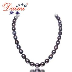 Pearls, black. DAIMI 10-11MM Big Black Rice Pearl Necklace Natural Pearl Choker NecklaceDeep discounts on over 300 products that enhance your life from day to day! Items for men and women of all ages, also teenagers. Take a look at our #jewelry #handbags #outerwear #electronicaccessories #watches #umbrellas #gpspettracker  #sunglasses #Songbirddeals #Purses