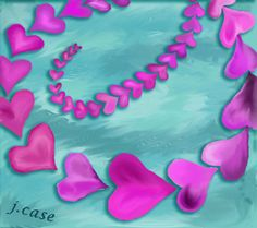 """A digital painting """"As Love Grows"""""""