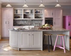 Shaker and classic shaker style kitchens, John Lewis of Hungerford