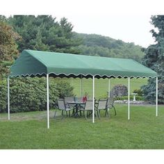 ShelterLogic 20 x 10 Decorative Party Canopy C&ing  Walmart.com  sc 1 st  Pinterest & Quik Shade Quik Shade Aero 10-ft W x 10-ft L Square White Steel ...