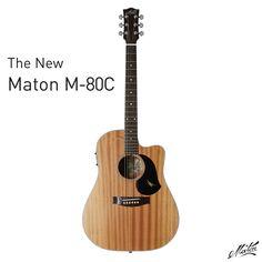 The New Maton M-80C. #handmade #acoustic #guitar #mahogany  For more information visit: http://go.maton.com.au/MatonM80C