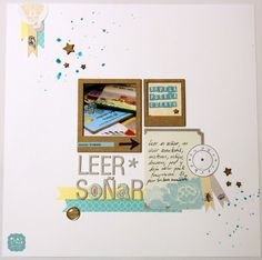 Tutorial Scrapbooking: LO