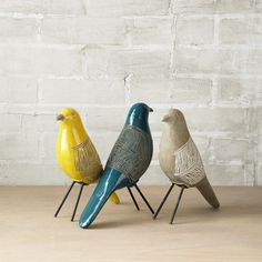 NEW! Handcrafted in the Philippines of terracotta, our Linework Birds are embellished with intricate etched designs then glazed to a beautiful finish. Each bird is subtly unique.