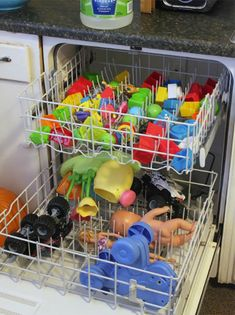 20 Genius Parenting Hacks Tested And Approved By Real Moms And Dads Cleaning Toys, House Cleaning Tips, Spring Cleaning, Cleaning Hacks, Oven Cleaning, Mom Hacks, Baby Hacks, Kids And Parenting, Parenting Hacks