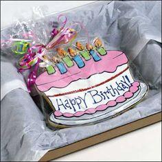 Happy Birthday Cookie Pail Happy birthday cookie Happy birthday
