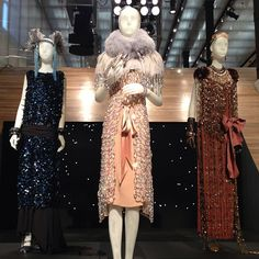 | The dress! Displayed at Prada's Soho store in NYC.
