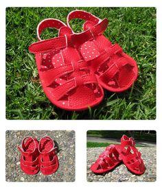 Cómo hacer unas sandalias de bebé – DIY