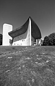 Ronchamp by Le Corbusier - photos by Manuela Martin