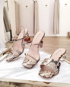 Rococo, Heeled Mules, Snake, Collections, Heels, Shopping, Fashion, Paragraph, Heel